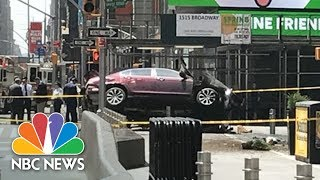 Car Slams Into Pedestrians In Times Square Killing At Least One | NBC News