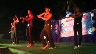 Sadda Haq desi boyz stage performance by clg students AAET