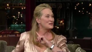 [HD] Meryl Streep on Letterman (7/15/2008) - Part 1