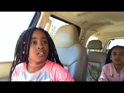 Pranked my girls by hiding my niece & nephew in our truck to scare them