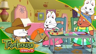 Max and Ruby: Amazing Arts and Crafts HD Episode ! | Funny Cartoons For Kids By Treehouse Direct