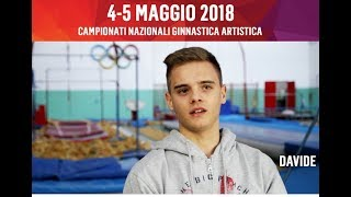 Davide, Fondazione Ricerca Fibrosi Cistica - Campionati Serie A e B GAM/GAF 2018