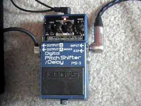 Gear Demo � Boss PS-3 Digital Pitch Shifter / Delay