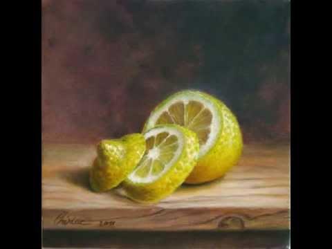 Don Lemon >> Realism still life oil painting Daniel Cristian Chiriac ...