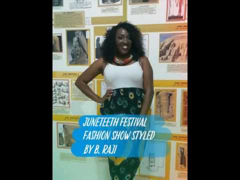 Juneteeth Festival: Remembering Black Wall Street Fashion Show