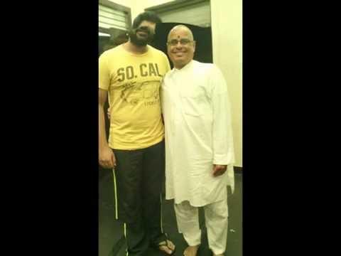 Tamil Actor Sri.simbu (silambarasan) With Spiritual yoga Guru.. Sri Prasanna Guruji video