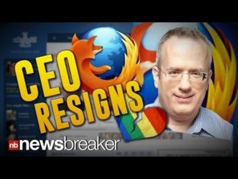 CEO RESIGNS: Mozilla Leader Leaves Post After OKCupid Controversy Over Gay Rights