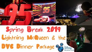 Spring Break 2019 - Lightening McQueen Racing Academy and DVC Dinner Package