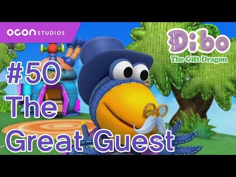 [ocon] Dibo The Gift Dragon  ep50 The Great Guest( Eng Dub) video