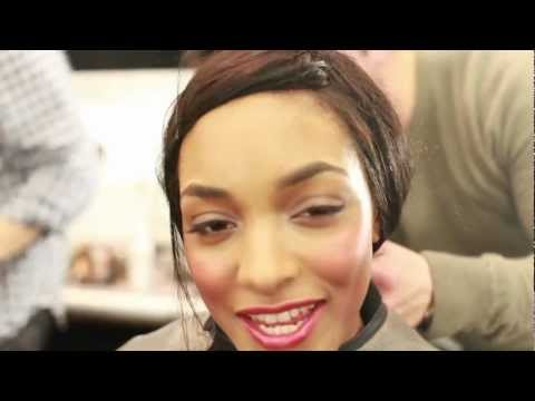 Interview with model Jourdan Dunn, New York Fashion Week FW 2012-13