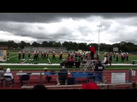 Woodbridge High School Marching Band Competition at Pequann