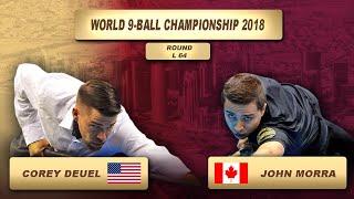 Corey Deuel - John Morra | World 9-Ball Championship 2018