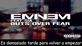 Eminem Video - Eminem Ft Sia - Guts Over Fear 2014 Subtitulado Español HD Shady XV