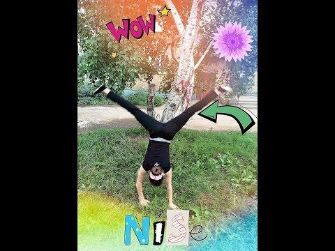 как правильно научиться делать гимнастический элемент Колесо.
