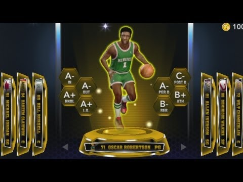 NBA 2k14 MyTeam Oscar Robertson Player Review! The Big O