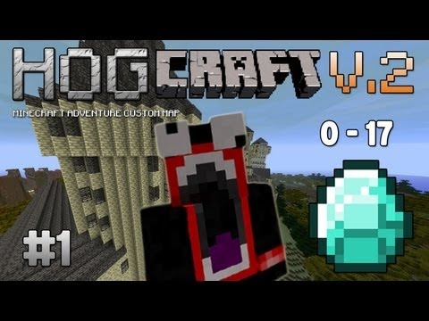 Minecraft Custom Map - Hogcraft 2 - Part 1 (Adventure Custom Map)