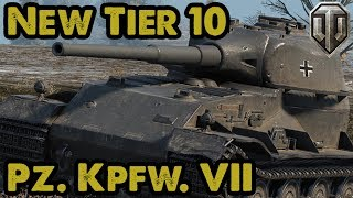 Pz. Kpfw. VII - NEW TIER 10 - Ace Tanker Guest Replay - WoT Console