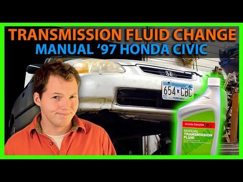 Transmission Fluid Change on 1997 Honda Civic (Manual)