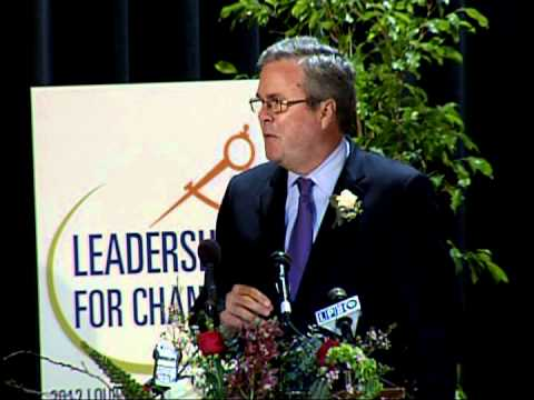2012 Louisiana Education Summit -- Governor Jeb Bush