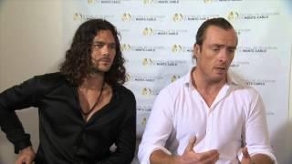 Festival 2014 - Interview Luke Arnold & Toby Stephens - Black Sails