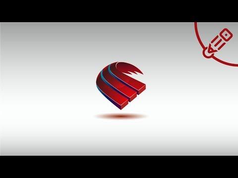 Урок по созданию 3Д логотипа. Подробный процесс. ( 3D logo tutorial )