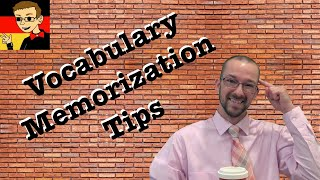 Vocabulary Memorization Tips - German Learning Tips #11