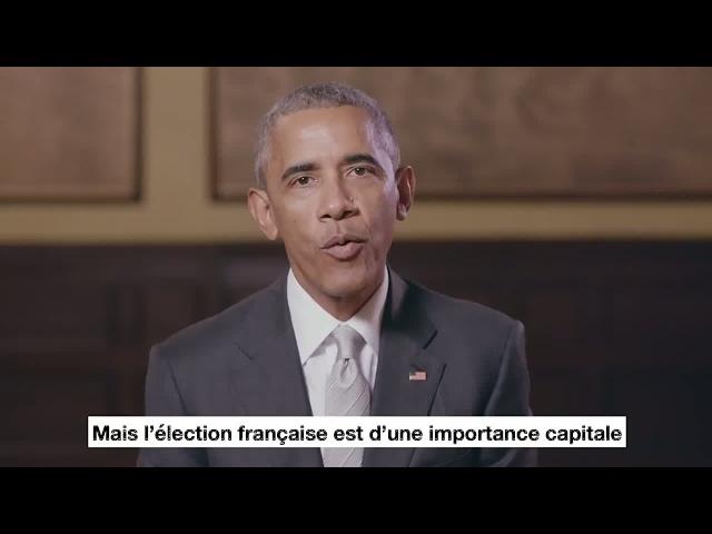 """""""En Marche! Vive La France!"""" Former US President Obama praises Emmanuel Macron"""