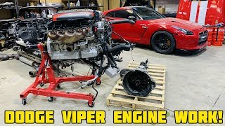 Rebuilding a Wrecked 2017 Dodge Viper Part 8