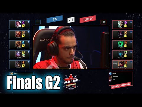 Turkey vs CIS (Russia) | Game 2 Finals IWC All-Star Melbourne 2015 Day 4 | TCL vs SLTV G2
