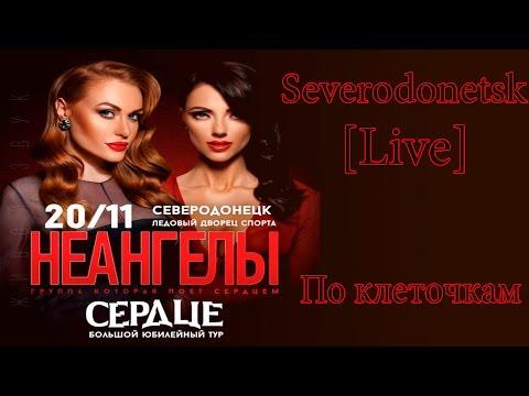 Неангелы юбилейный тур Сердце, Северодонецк #2 Live песня По клеточкам