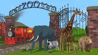 Learn about the Letter Z and Animals - The Alphabet Adventure With Alice And Shawn The Train
