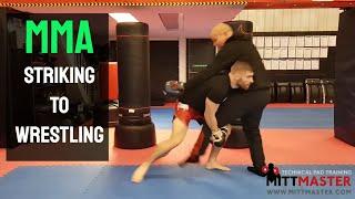 MMA Striking To Wrestling Chain