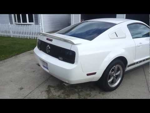 2006 Mustang V6 TRUE DUAL  Straight Pipes (Pony Car Package)