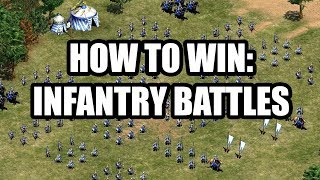 How to Fight and Win With Infantry Units - Age of Empires 2