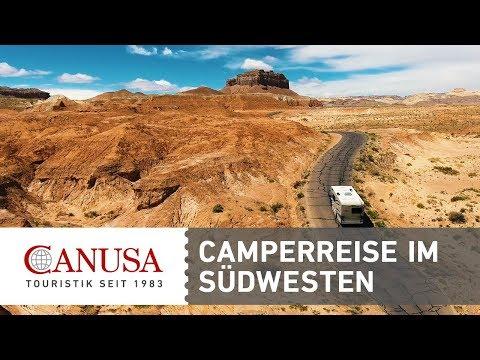 Begleite uns auf eine Camper-Reise in den Südwesten der USA| CANUSA