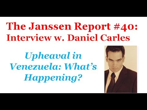 Venezuela: Empty Shelves, Uprising, Hyperinflation and The Economy, interview with Daniel Carles