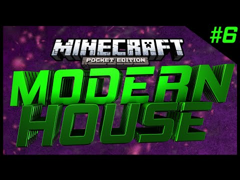 Minecraft Pocket Edition - Modern House 6