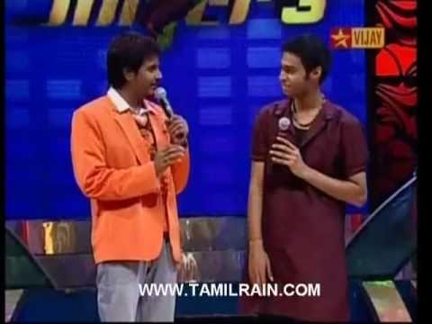 Saiesan & Siva Karthikeyan - Usure Poguthey - Super Singer 3