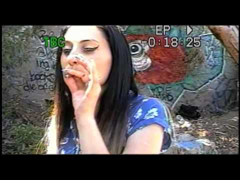 Kreayshawn - Summertime Feat. V-nasty - Pseudo Vhs Video video