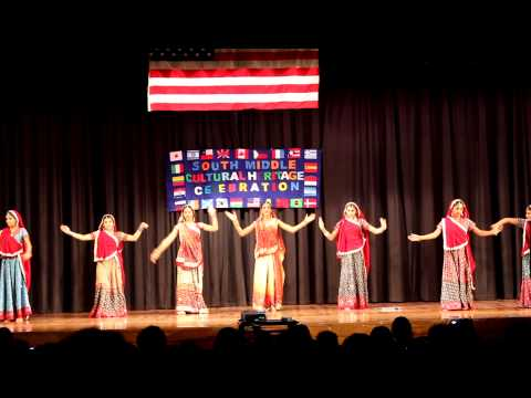 2013 Great Neck South Middle School Cultural Heritage - 3 India Folk Dance