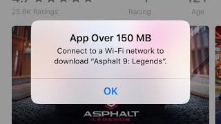 Download over 150 MB sized Apps or Games on iPhone without wifi | Apple tips