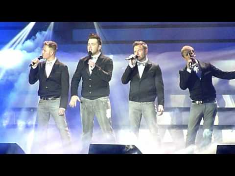 Westlife O2 12 05 12 - The Farewell Tour - Flying Without Wings (final Number) video