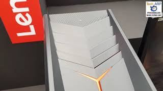 The Lenovo Legion Y720 Gaming Desktop Up Close