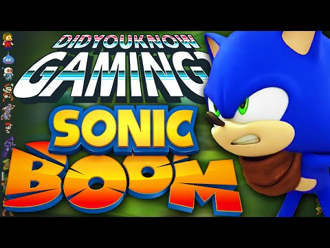 Sonic Boom - Did You Know Gaming? Feat. JonTron