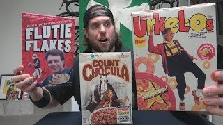 Rare Discontinued 80's & 90's Cereal Taste Test (Reliving My Childhood) | L.A. BEAST