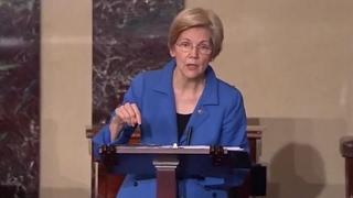 Sen Warren Cut Off For Reading MLK Widow