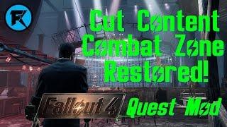 Cut Content Combat Zone Restored Fallout 4 Quest Mod VideoMp4Mp3.Com