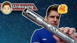 Saberforge Aeon Unboxing - This lightsaber has windows!