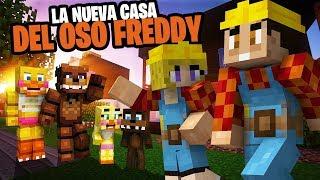CASIMOCHO CONOCE A ARITA LA CONSTRUCTORA!! - LA NUEVA CASA DE FREDDY - MINECRAFT ROLEPLAY