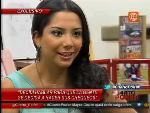 Cuarto Poder: Mayra Couto, la popular Grace reveló que lucha contra el cáncer